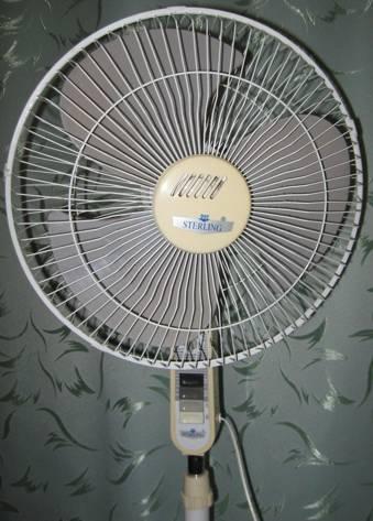Подопытный вентилятор