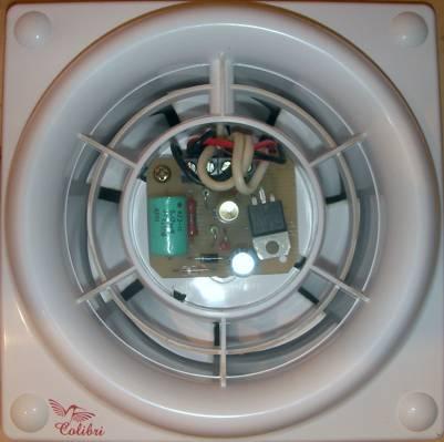 Вентилятор с установленным таймером