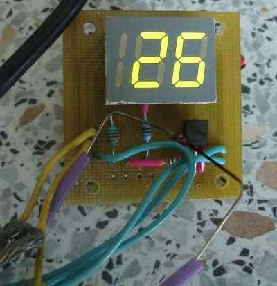 Демонстрация работы термометра